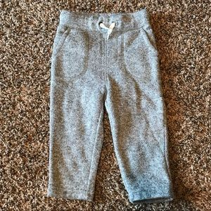 Toddler boy Gap sweat pant joggers